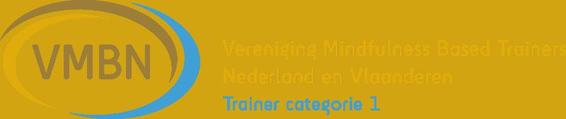Logo van de VMBN, de beroepsvereniging voor mindfulnesstrainers.