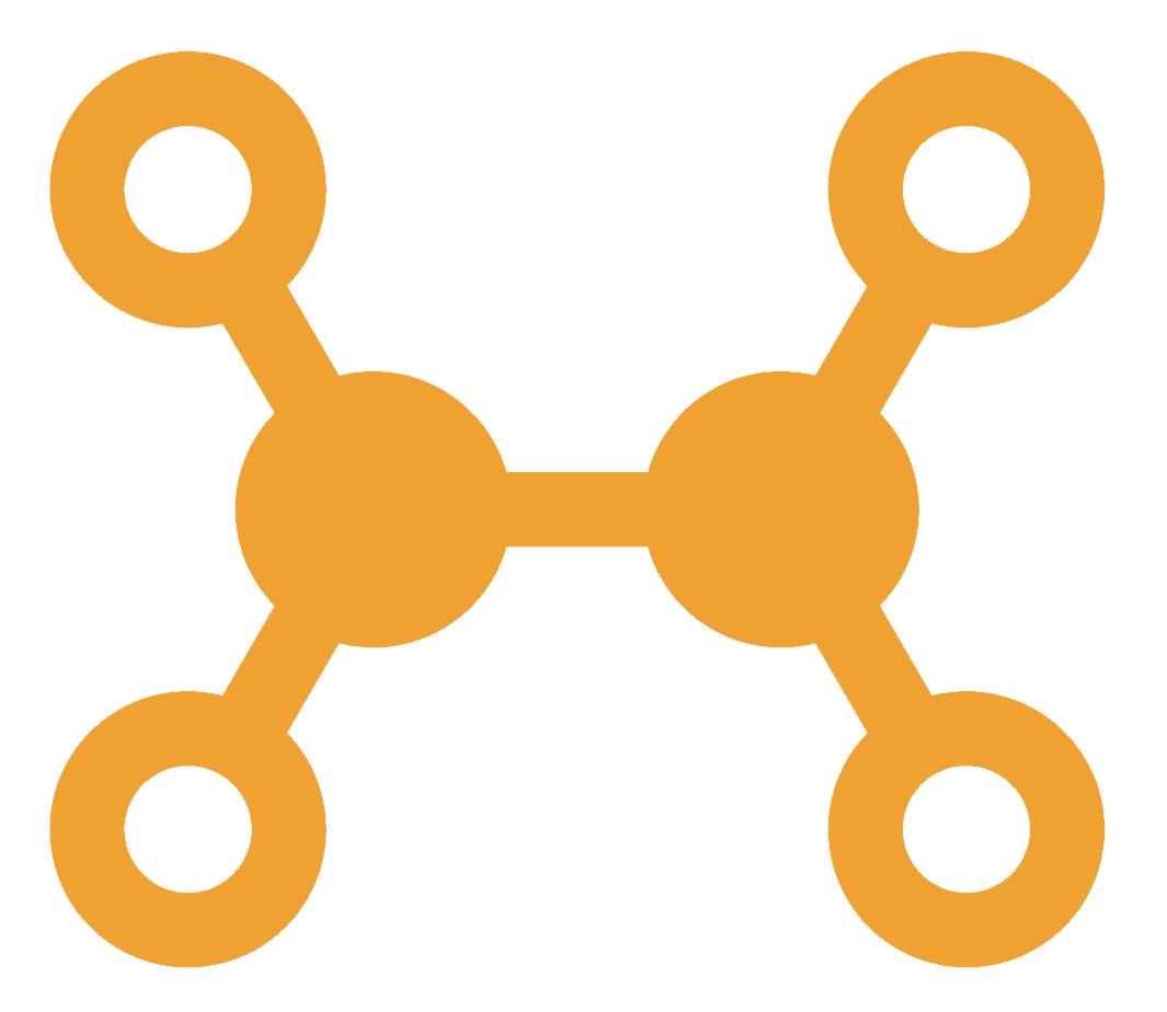 Symbool voor verbinding: een van de voordelen van mindfulness voor mij persoonlijk.