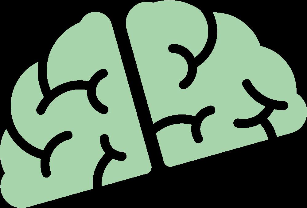 Het breintje uit het logo van Silenz.